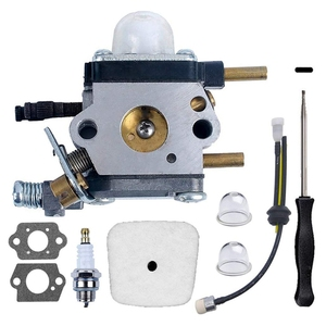 C1U-K54A Carburetor Repower for 2-Cycle Mantis 7222 7222M 7222E 7225 7230 7240 7920 7924 Tiller/Cultivator with Air Filter & Gas(China)