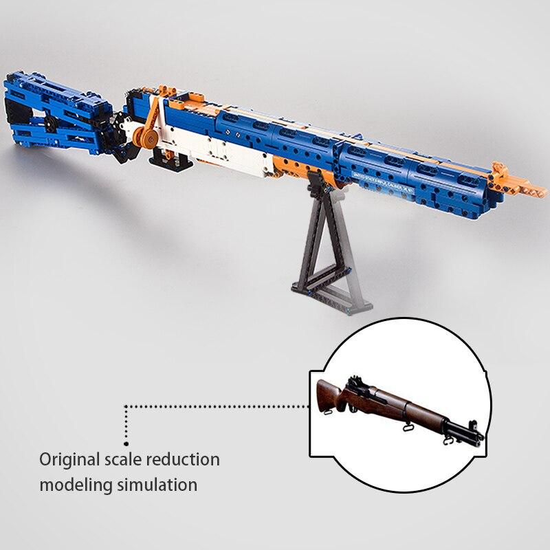 brinquedos armas bluiding arma modelo calibre m1 02