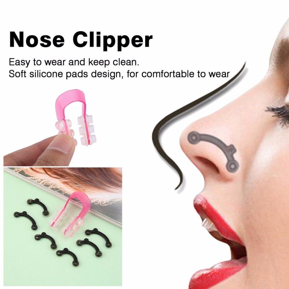 3D nariz levantar la forma de la nariz herramienta cortaúñas nariz Shaper de Clipper Kit enderezar la nariz Clip herramienta de belleza