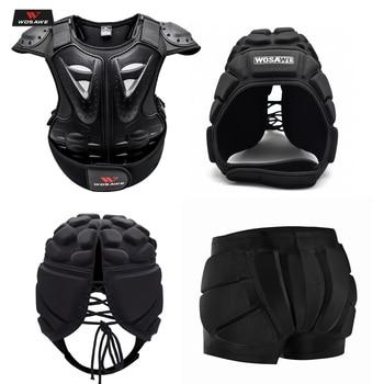 WOSAWE de la motocicleta niños Infantil Moto protección esquí armadura de cuerpo espina pecho Protector de bicicleta