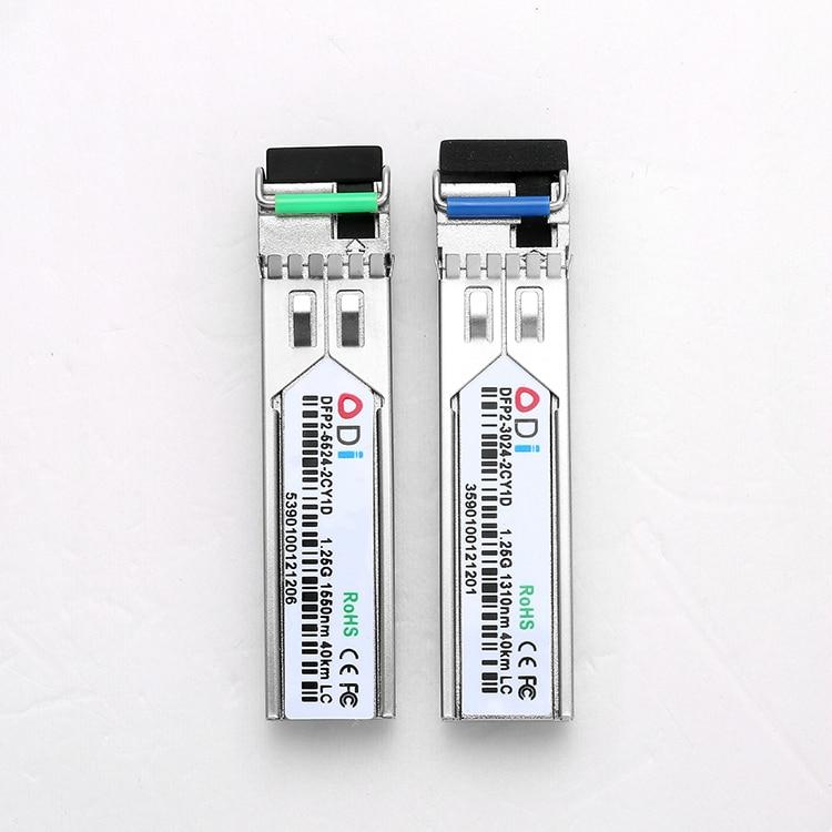 DFP2-3124-2IY11Manufacturer Of 40km SFP BIDI Optical Transceiver 1310/1490 1.25Gb