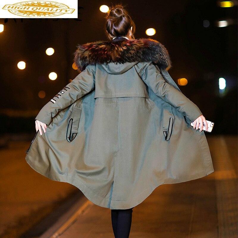 White Duck Down Jacket Women Korean Hooded Down Coat Winter Coat Women Liner Detachable Puffer Jacket Warm Parka 01254 YY1807