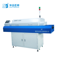 6 Zones Heating Reflow Soldering Oven for PCB/LED Production Line death zones