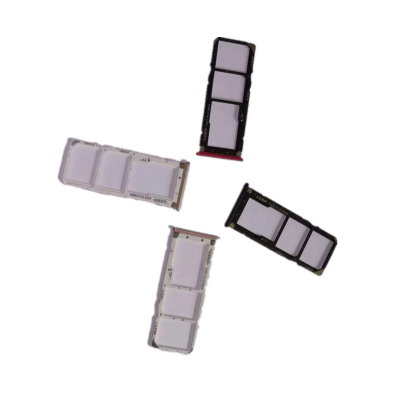 <font><b>SIM</b></font> Card <font><b>Slots</b></font> For Xiaomi Mi A2 Lite / Redmi 6 Pro <font><b>Sim</b></font> Cards Adapters Socket Holder Tray Phone Replacement Housing Repair Parts image