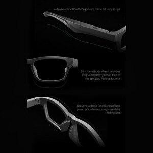 Image 2 - الراقية نظارات ذكية سماعة لاسلكية تعمل بالبلوتوث حر اليدين دعوة الموسيقى الصوت فتح الأذن النظارات الشمسية!
