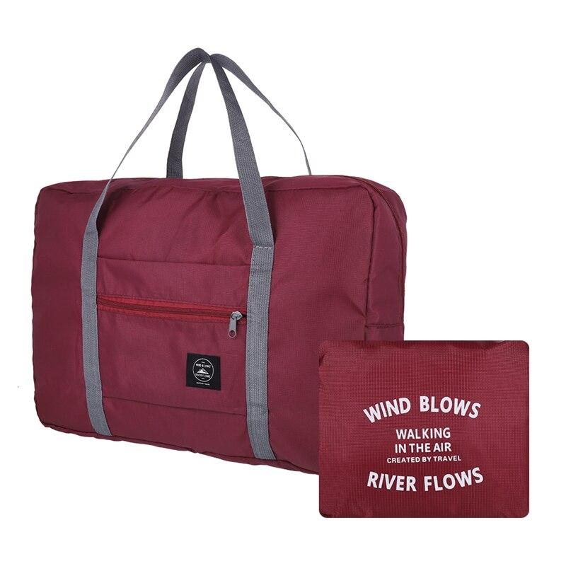 1 PC Nylon Travel Bag Foldable Waterproof Large Capacity Bag Luggage Women Men Handbags Travel Bags Dropship New Arrival