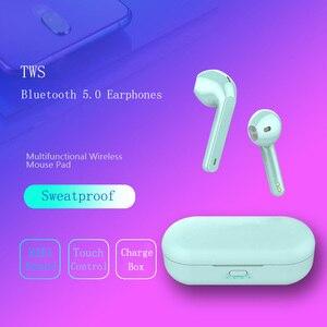 Image 4 - Tws l8 bluetooth fone de ouvido sem fio fones controle toque inteligente 3d surround som pk w1chip i10 i20 i30 tws i90