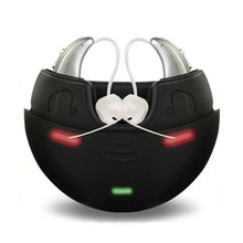 цены One pairs Rechargeable Digital Hearing Aid earphone Amplifier hearing Ear Aids Deaf-aid Audiphone for the hearing Loss