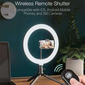 Image 2 - BlitzWolf BW SL3 التصوير الفوتوغرافي استوديو فلاش LED حامل هاتف Selfie عصا بلوتوث عن بعد لايف للإزالة حامل ثلاثي القوائم