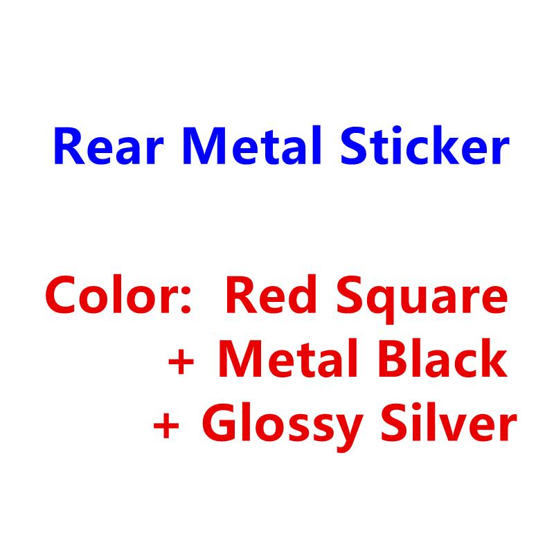 Красный, черный, серебристый металлический 3D стикер, аксессуары для стайлинга автомобиля для Audi R S Q 3 4 5 6 7 8, значок на задний багажник автомобиля, эмблема, логотип, наклейки|Наклейки на автомобиль|   | АлиЭкспресс