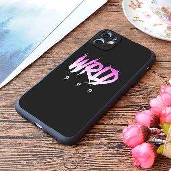 Funda para iPhone Juice Wrld 999 Rap hip hop Print Soft Matt...