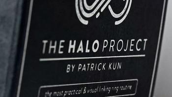 Halo projektu przez Nuvo projekt o tym co chcesz i Patrick Kun magiczne sztuczki tanie i dobre opinie Metal Różne rekwizyty Unisex Jeden rozmiar 8-11 lat STARSZE DZIECI 12-15 lat ŁATWE DO WYKONANIA Profesjonalne Zniknięcie