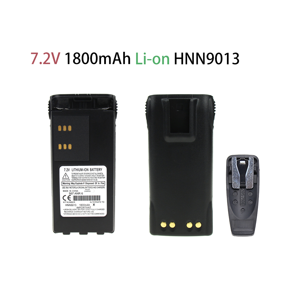 1800mAh Li-on Replacement Battery For Motorola Radio HT750 HT1250 GP320 GP328 GP338 HNN9008 HNN9008A HNN9008AR HNN9008H HNN9009