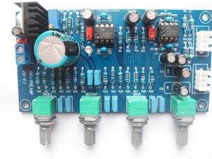 Image 4 - تيار مستمر 12 فولت 24 فولت OPA2604 OPAMP ستيريو Preamp قبل مكبر للصوت حجم لهجة لوحة تحكم مكبر للصوت مجلس المتكلم