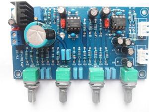 Image 4 - DC 12V 24V OPA2604 OPAMP סטריאו Preamp מראש מגבר נפח טון בקרת לוח עבור מגבר לוח רמקול