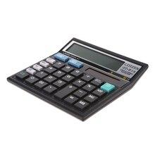 12-разрядный Солнечный Батарея двойной Мощность большой Дисплей офисный Настольный калькулятор CT-512
