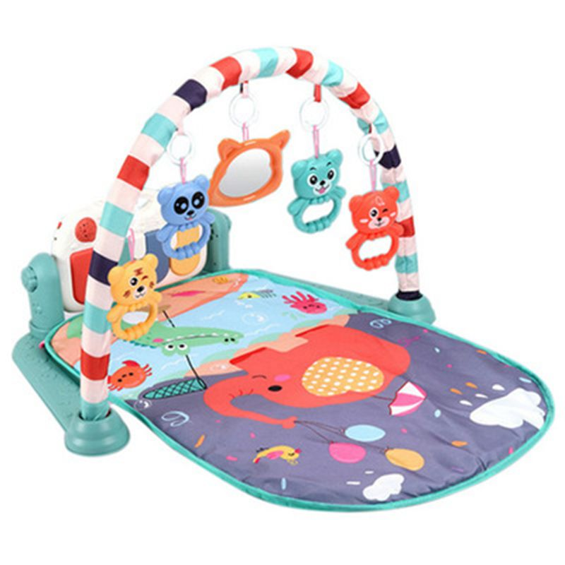 H9c6f53de999944da878c8f002e824d16f Play Mat Baby Carpet Music Puzzle Mat With Piano Keyboard Educational Rack Toys Infant Fitness Crawling Mat Gift For Kids Gym