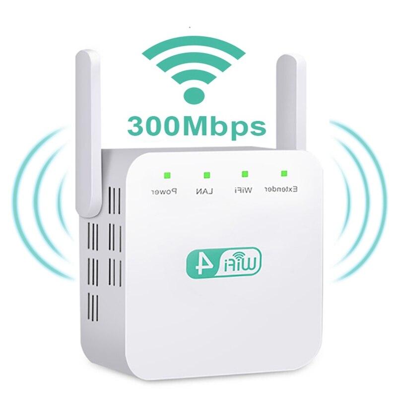 300Mbps Wireless WiFi Repeater Wifi Extender Wi-Fi Amplifier Long Range Wifi Signal Booster Ultraboost Wifi Repiter Access Point