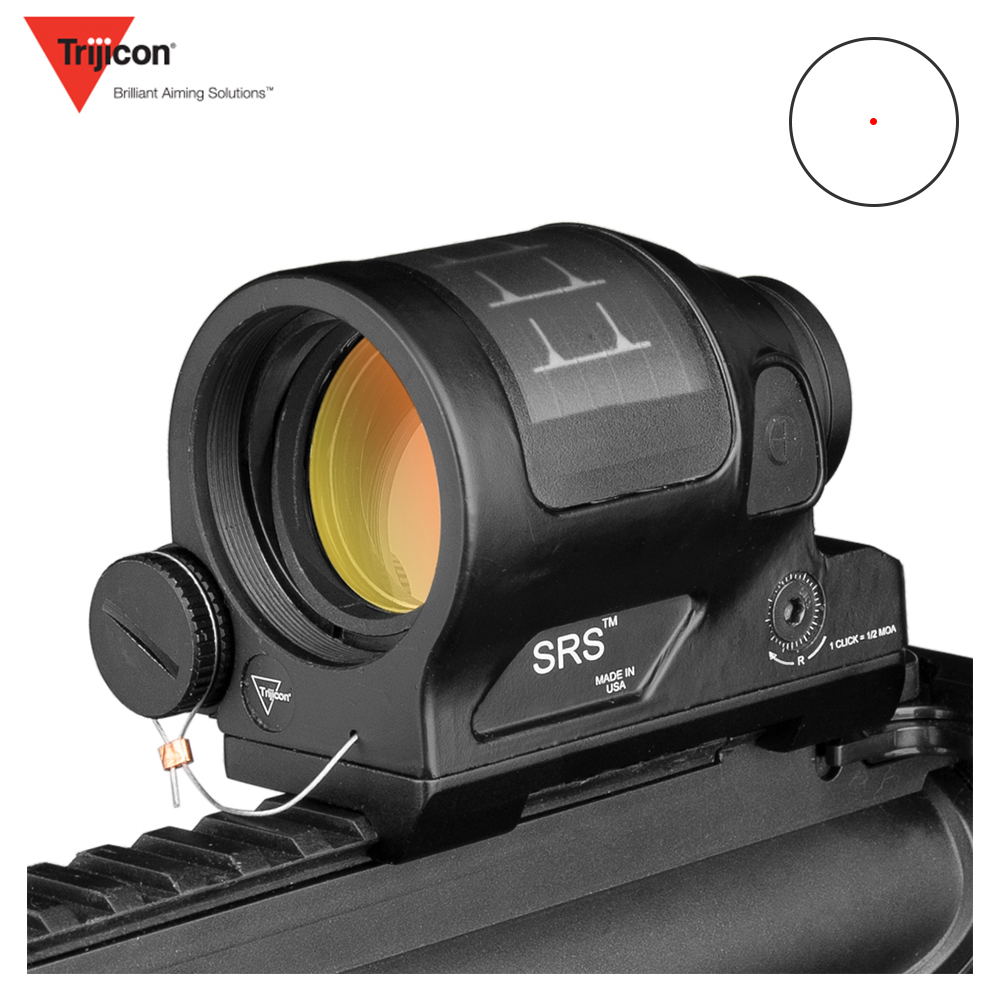 SRS Hunting Reflex Sight Solar Power System Hunting 1X38 Red Dot Sight Scope With QD Mount Optics Rifle Scope