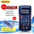 ZOYI ZT X Digital Multimeter true rms ac dc voltmeter auto range multimeter mit NCV DATEN HALTEN lcd hintergrundbeleuchtung display-in Multimeter aus Werkzeug bei