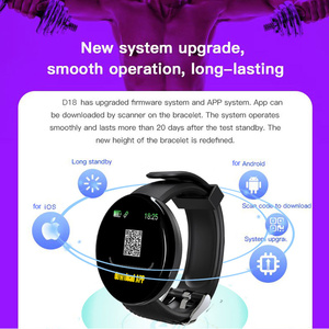 Image 5 - New Bluetooth Smart watch Men Blood Pressure Round Smart Bracelet Women Watch Waterproof Sport Tracker For Android Ios Pk Active