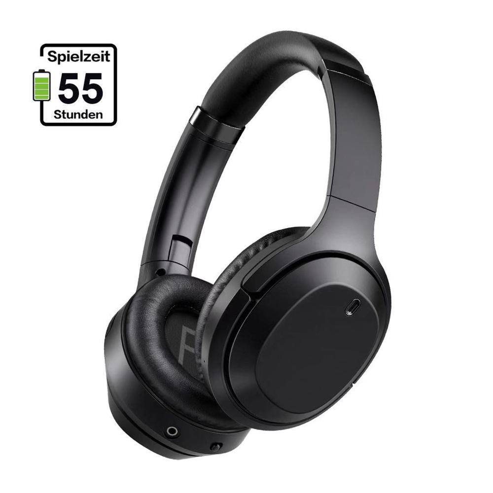 GURSUN M98 ANC Active Noise Cancelling Headphones Bluetooth Headset 5 0 Wireless Headphones HiF Stereo Foldable with Microphone