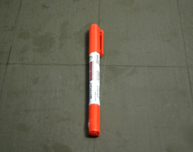 GM405 Real Touch Orange 1 GSI Ceros Mr. Hobby Gundam Marker