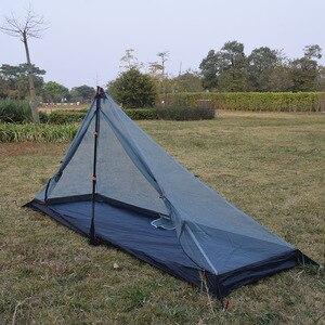 Image 3 - 340 גרם 3 עונות T דלתות עיצוב יתד פינת קל במיוחד חיצוני קמפינג אוהל fit ביותר פירמידת אוהל