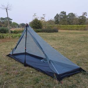 Image 3 - 340 grams 3 seasons T doors design strut corner Ultra light  outdoor camping tent fit most pyramid tent