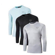 Jeansian 3 Pack Mens UPF 50+ UV Sun Protection Outdoor Long Sleeve Tee Shirt Tshirt T-Shirt Beach Summer LA245 PackE
