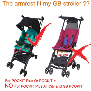 Image 2 - Sac de voyage pour poussette de bébé et accoudoir pour go pockit plus, sac de rangement pour Goodbaby Pockit + (pas pour toute la ville)