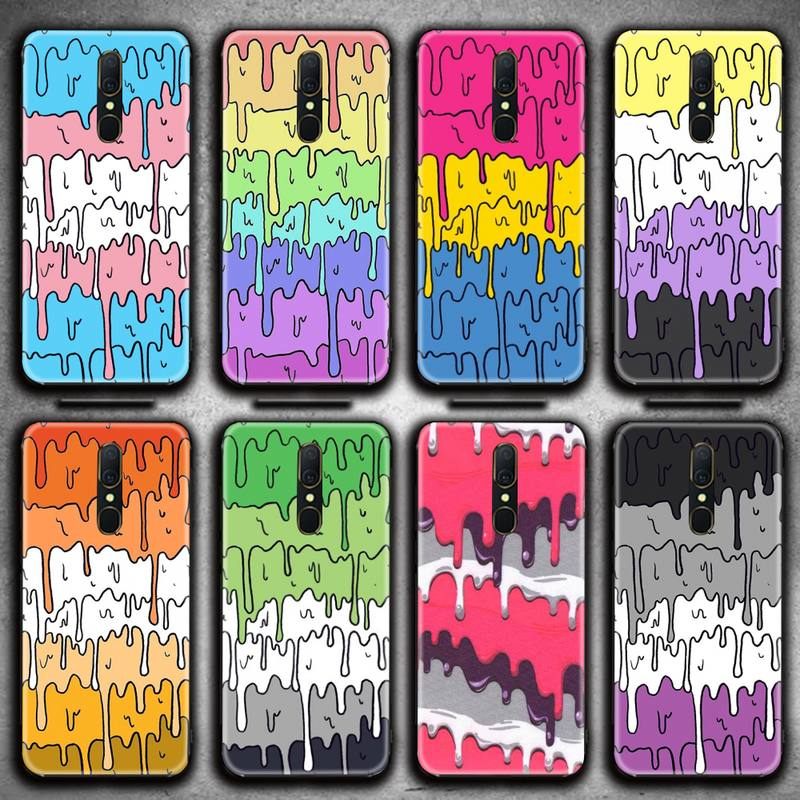 Пастель Kawaii плавления ЛГБТ Дизайн чехол для телефона для Oppo A5 A9 2020 Reno2 z Renoace 3pro A73S A71 F11