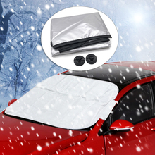 Car exterior protection Snow blocked Car Covers Snow Ice Protector Visor Sun Shade Fornt Rear Windshield Cover Block Shields intro tech automotive lx 22 s windshield snow shade