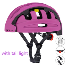 Спорт на открытом воздухе складные велосипедные шлемы мужские и женские велосипедные шлемы с задним светом сверхлегкие горные мотоциклетные шлемы