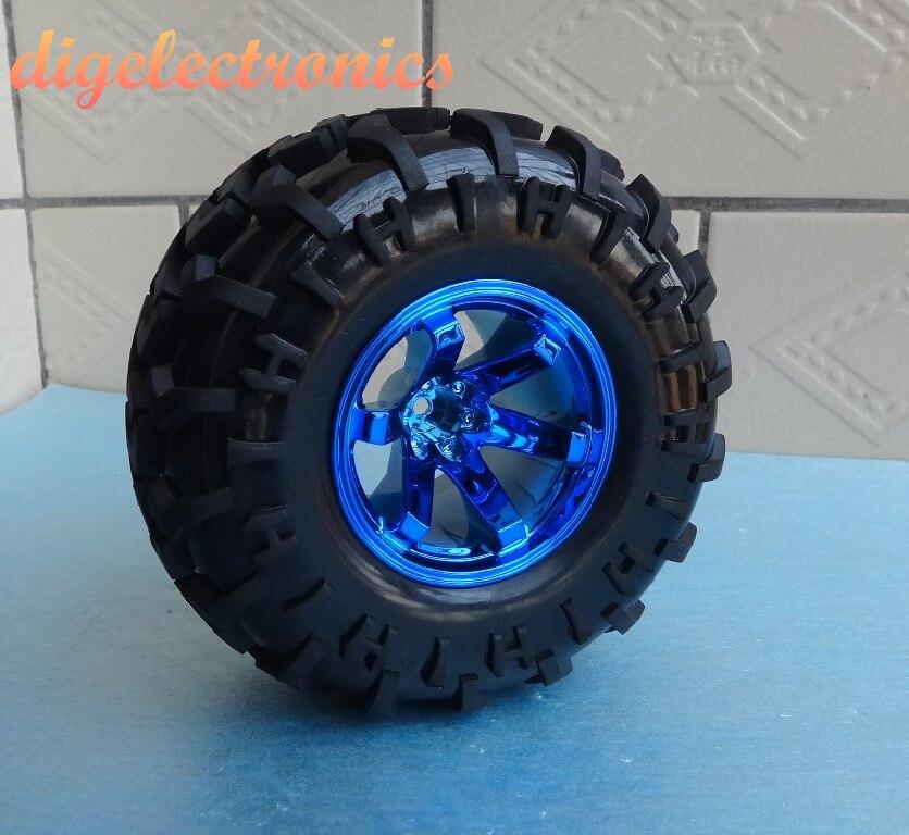 2pcs 130MM Smart Robot Car Wheels Rubber Wheel Width 60MM Toy Car Tire For DIY RC Toy Robot Car Accessories