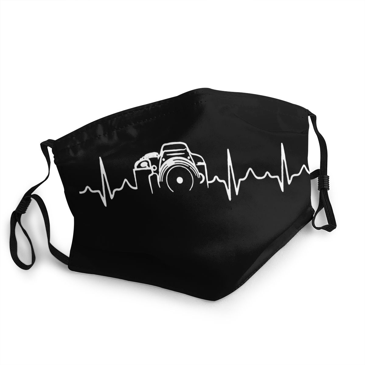 Heartbeat Of Camera Reusable Mouth Face Mask Photographer Anti Haze Dustproof Mask Protection Cover Respirator Mouth Muffle