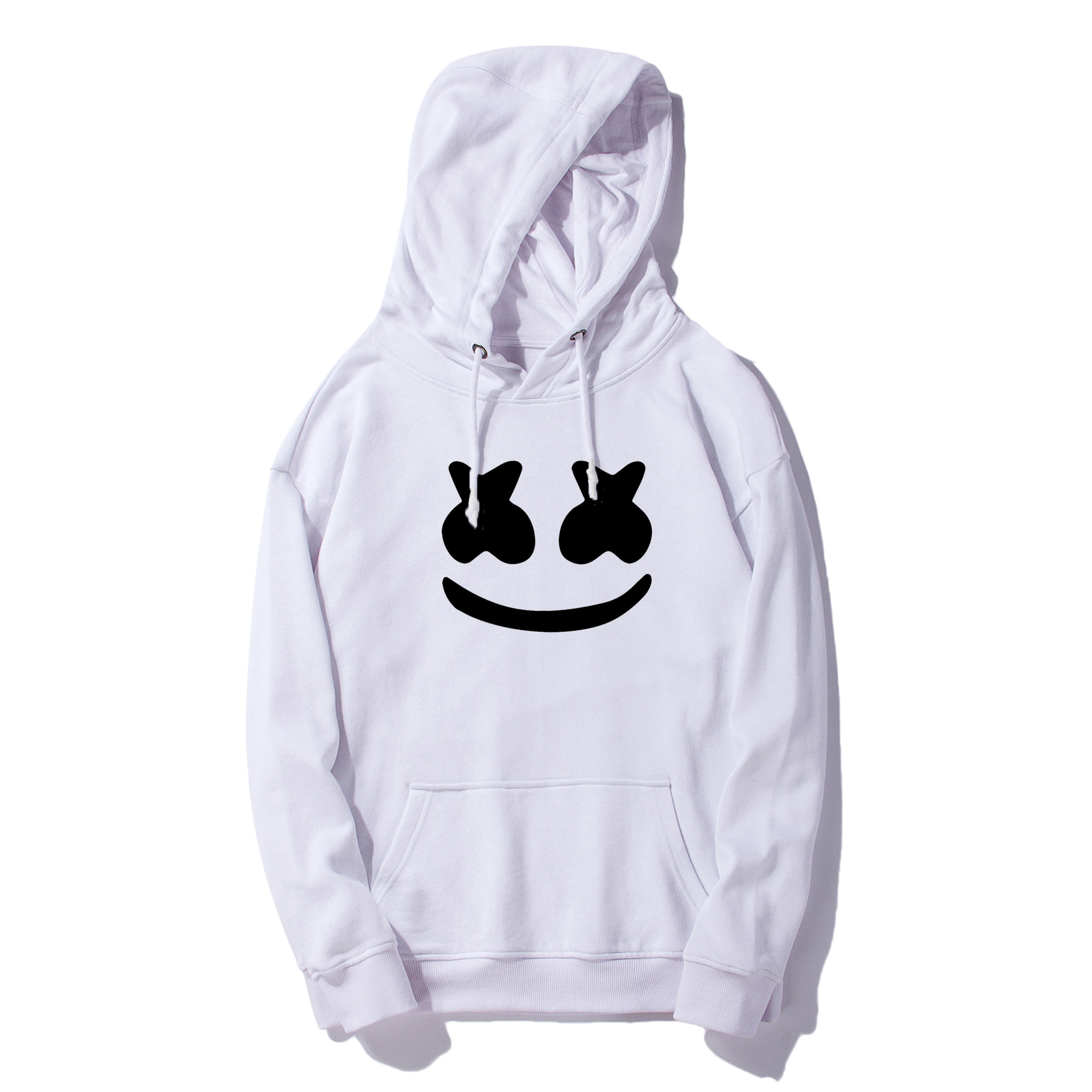 Europe And America Baida Electronic Music DJ Cotton Candy Celebrity Style Hoodie Marshmello Rock And Roll Related Products Men's