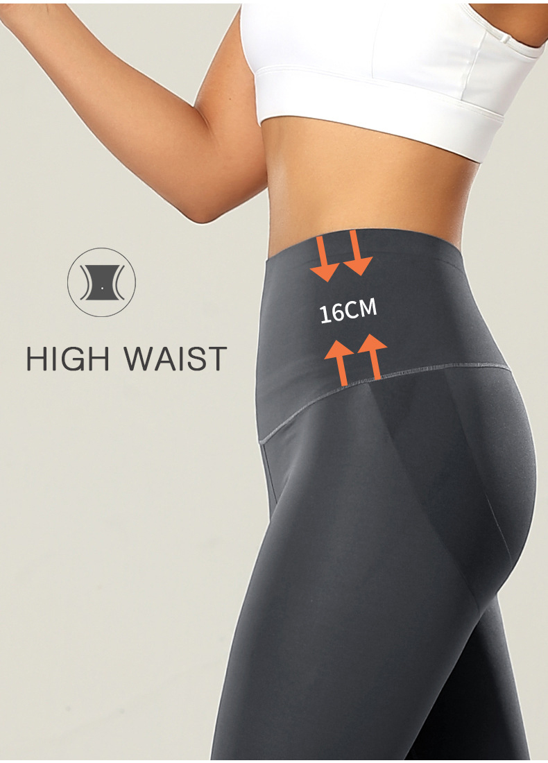 BIVIGAOS Summer New Women High Waist Sharkskin Biker Shorts Skin Feeling Breathable Fitness Raise Buttock Knee Length Sexy Short