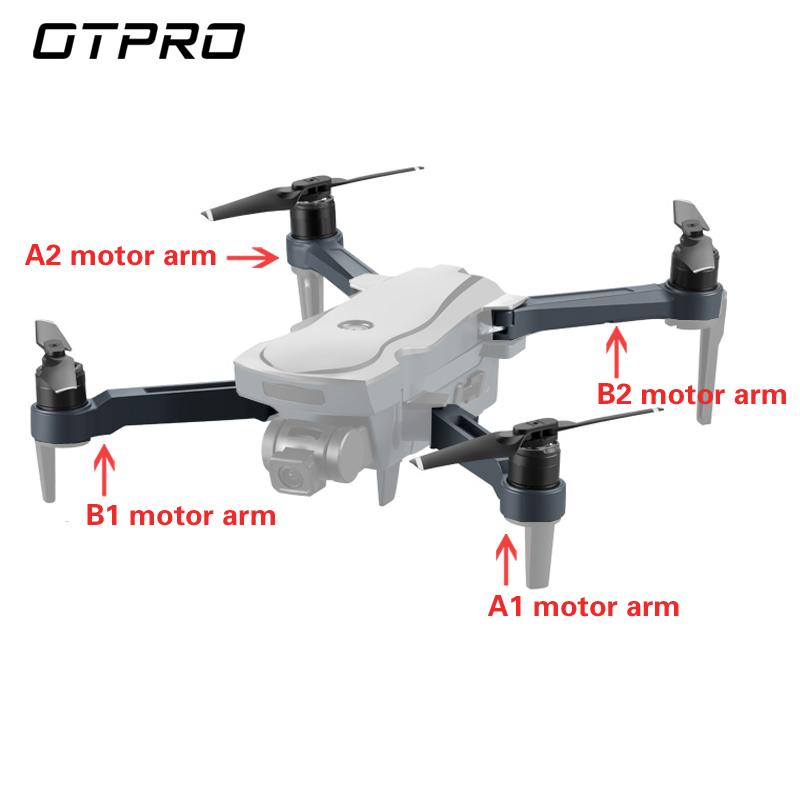 OTPRO GPS Dron Motor Quadcopter Original Spare Parts Propeller Arm Drone CG018 SG907 Accessories CG033 K20