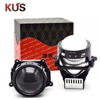 40W 3.0inch BI LED Projector Lens Car Headlight Retrofit Universal LED Headllamp High Low Beam Hid Xenon Lens Car Accessories 1