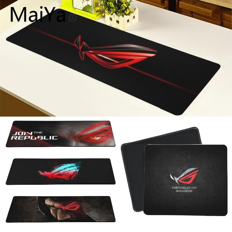 Maiya Top Quality ASUS Eyes DIY Design Pattern Game Mousepad Free Shipping Large Mouse Pad Keyboards Mat