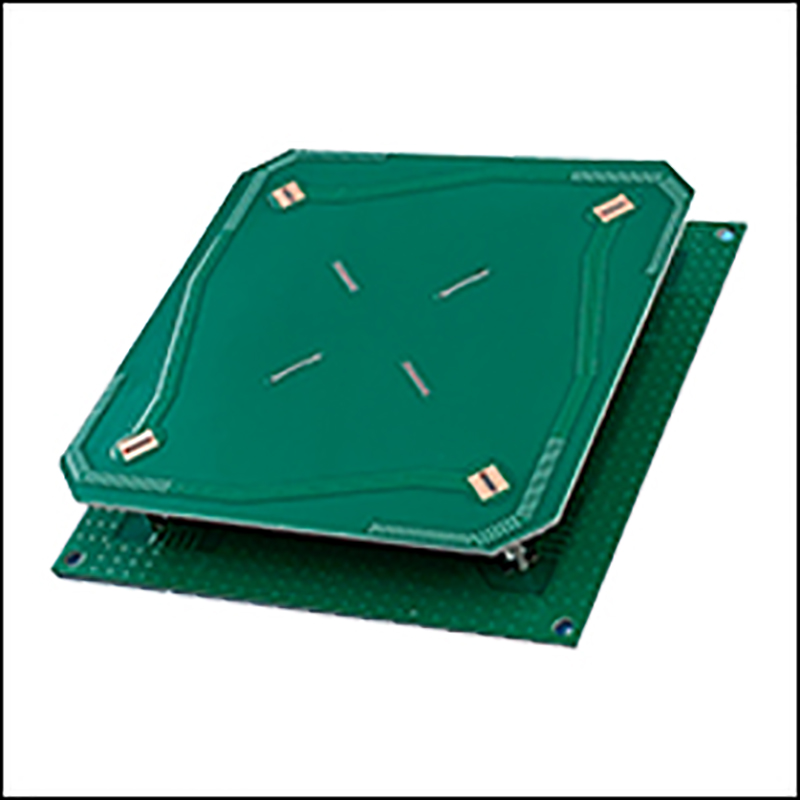 YJT-T075R  Uhf 75*75mm 4dBi PCB Ceramic Antenna With MMCX(SMA/TNC/N)  Connector Used For Access Control