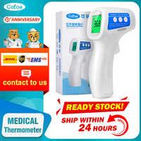 Cofoe Stirn Thermometer Nicht Kontakt Infrarot Thermometer Körper Temperatur Fieber Digitale Maßnahme Werkzeug für Baby Erwachsene