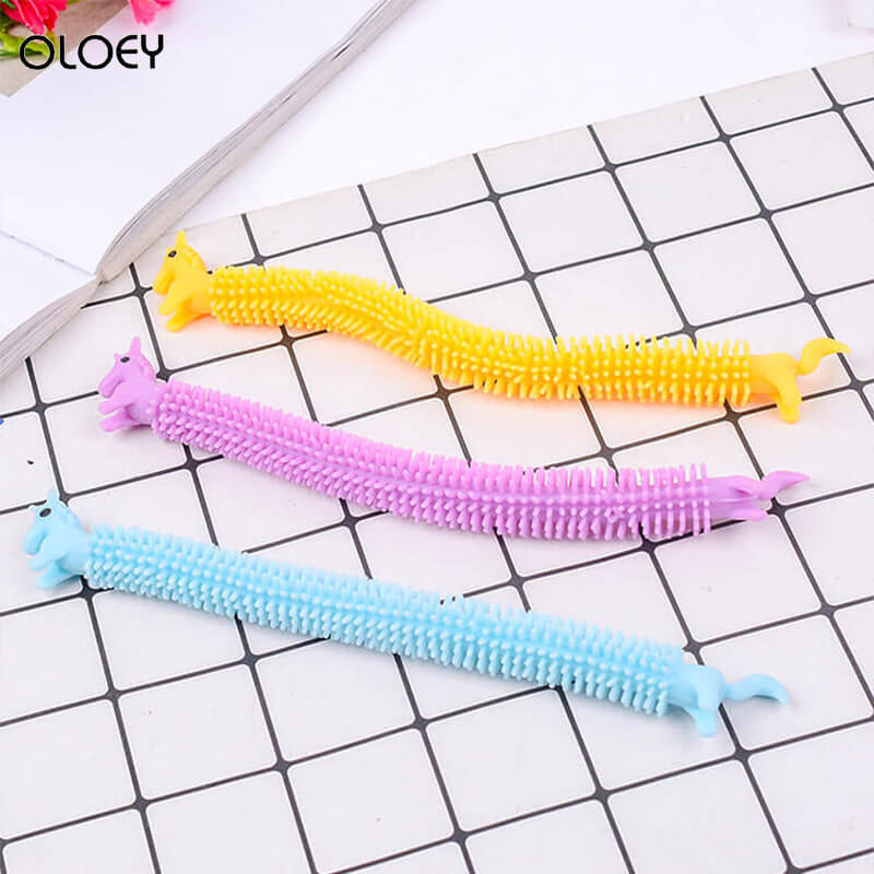 Stress Toy Fidget-Toys Unicorn Noodles Like Popit Simple Dimple 19CM Fitness-Tools Functions img4