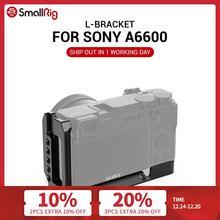 Smallrig A6600 L Plaat Dslr Camera A6600 L Plaat L Beugel Voor Sony A6600 W/ Arca Type Plaat voor Vlog Vlogging Rig 2503