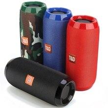 Portable Bluetooth Speaker Wireless Bass Column Waterproof Outdoor USB Speakers Support AUX TF Subwoofer Loudspeaker