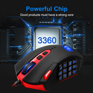 Image 5 - Redragon Perdition M901 USB wired Gaming Mouse 24000DPI 19 buttons programmable game mice backlight ergonomic laptop PC computer