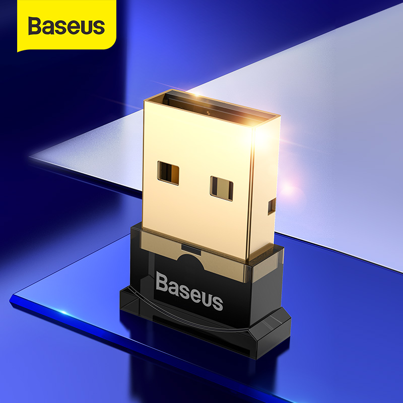 Baseus USB بلوتوث محول USB دونغل ل المتكلم Aux جهاز كمبيوتر شخصي ماوس بلوتوث استقبال بلوتوث 4.0 الارسال محول
