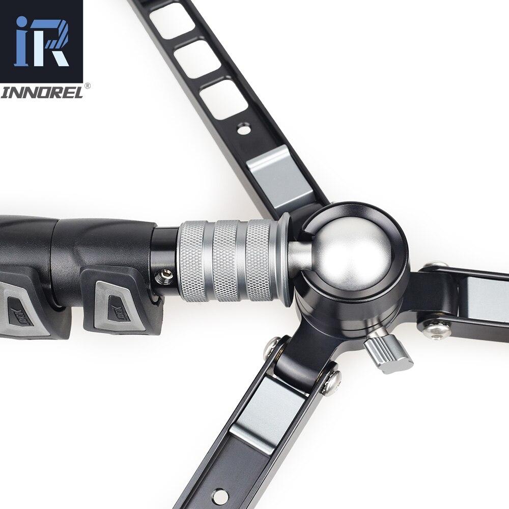 VM70K profesional Video Monopod Kit Unipod con cabezal fluido viaje trípode soporte para cámara DSLR videocámaras telescópicas Gopro - 6