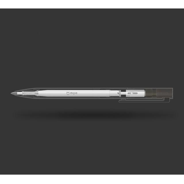 Original Xiaomi Mijia Metal Sign Pens PREMEC Smooth Switzerland Refill 0.5mm Signing Pens Mi Aluminum Alloy Pens Black Ink 1